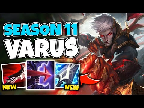 THE RETURN OF FULL SNIPER VARUS! HE'S BEYOND BUSTED IN SEASON 11? - League of Legends