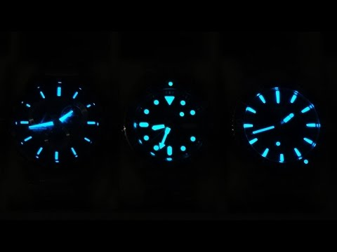 Watch Lume Comparison - Are they all the same? - Perth WAtch #8