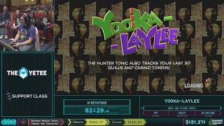 Yooka-Laylee by Reyathae in 28:31 AGDQ 2018