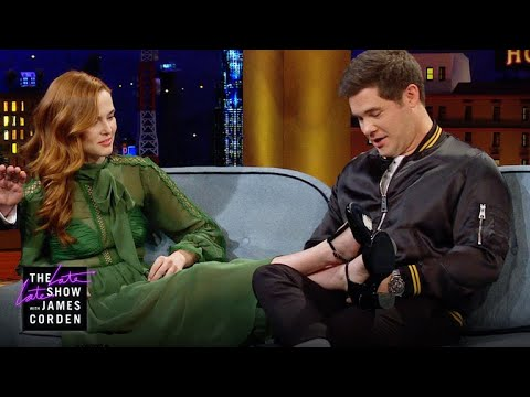 James Corden vs. Is Zoey Deutch's Dog Tattoo Sweet or Weird?