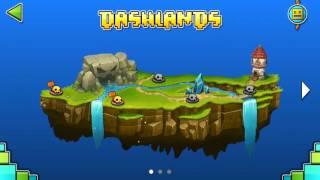 Прохождение новой игры , geometry dash world