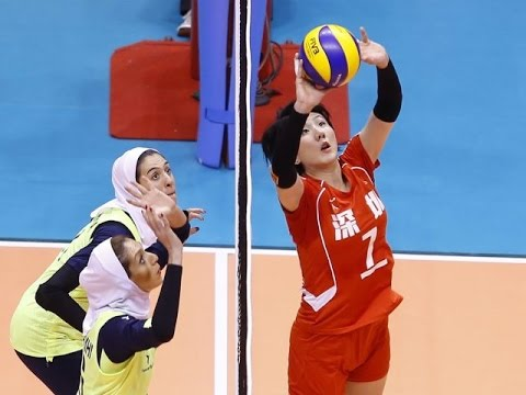 China vs Iran | 06 Sep 2016 | 2nd Round | 2016 Asian Women's Club Volleyball Championship