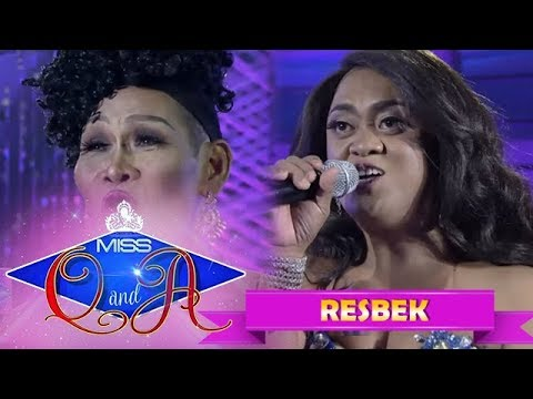 It's Showtime Miss Q & A Resbek: Angelika Mapanganib vs. Queen Isabela Lopez  | Di Ba? Teh! Part 2