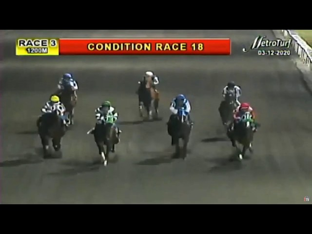 UNION RUN - RACE 3 - MMTCI HORSE RACING REPLAY - MARCH 12, 2020 - BAYANG KARERISTA