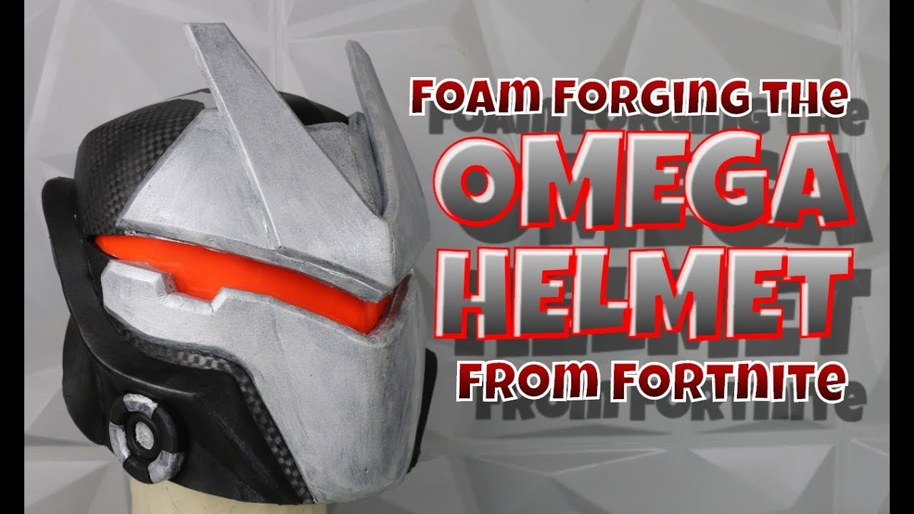 Foam Forging The Omega Helmet From Fortnite Youtube