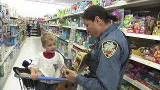 Egg Harbor Township Police Athletic League Shop With A Cop 2013