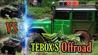 Safari Off-Road‼️Andy S Tebox'S, Aksin Tebox'S, Fendi Pati & Teman Tebox'S‼️Extreme Films