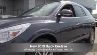 New 2013 Buick Enclave Video Tour MD | Buick Dealer Baltimore Owings Mills