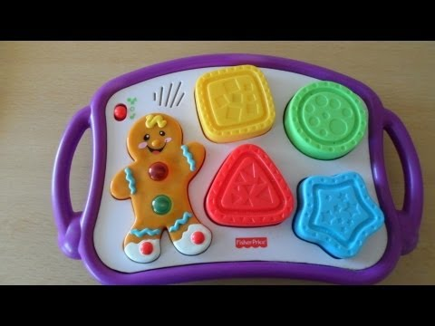 Kindergarten Fisher Price Gingerbread Man Toy With Ligh