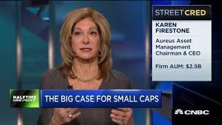 Small caps is the safer place to put your money: Kari Firestone