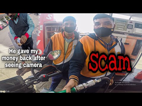 PETROL PUMP SCAM in India Caught ON CAMERA | How to AVOID this FRAUD | 2021