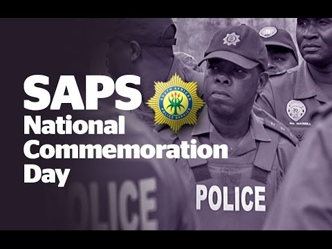 Commemoration of SA Police Service murdered policemen and women