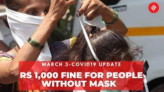 Coronavirus Update Mar 3: Each police zone to fine 1,000 maskless people per day in Mumbai