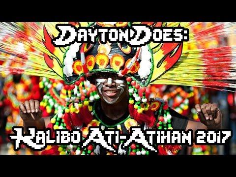 Dayton Does Kalibo Ati-Atihan 2017 (Philippines Tribal Festival, Dancing, Music, Children, Tribes)