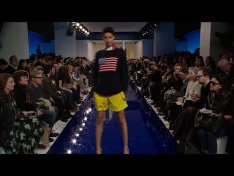 Jamaican escapism for Ralph Lauren on NY runway