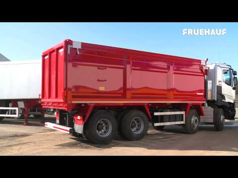 Fruehauf Eight Wheeler Steel Semi Bulk Body - New For 2015