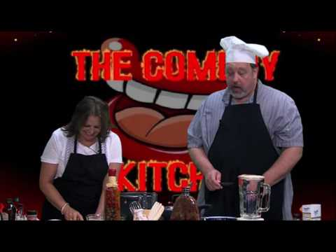 The Comedy Kitchen episode 40 with host Dennis Wirth and guest Mary Ellen Rinaldi