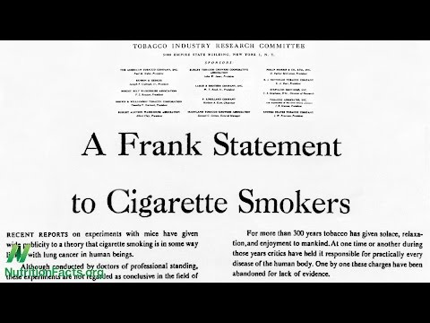 Big Food Using the Tobacco Industry Playbook