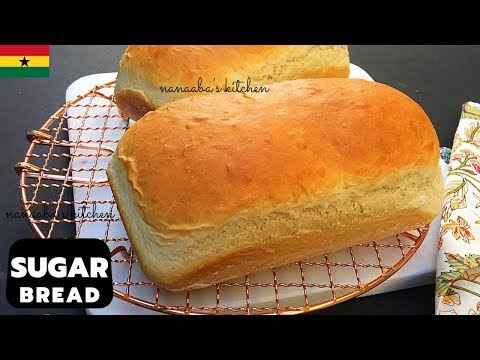 How To Make The Best Ghanaian SUGAR BREAD✔