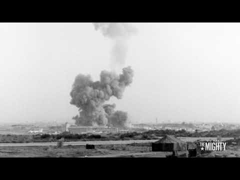 Marines in Beirut attacked by suicide bomber - 10/23/1983
