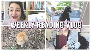 anxiety is exhausting [READING VLOG | 17-23 Sep 2018]