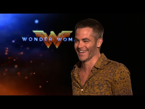 Interview with Chris Pine for Wonder Woman