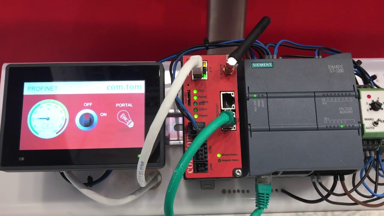 Beck-IPC is connecting Industry Simatic S7 1200 to Cloud and