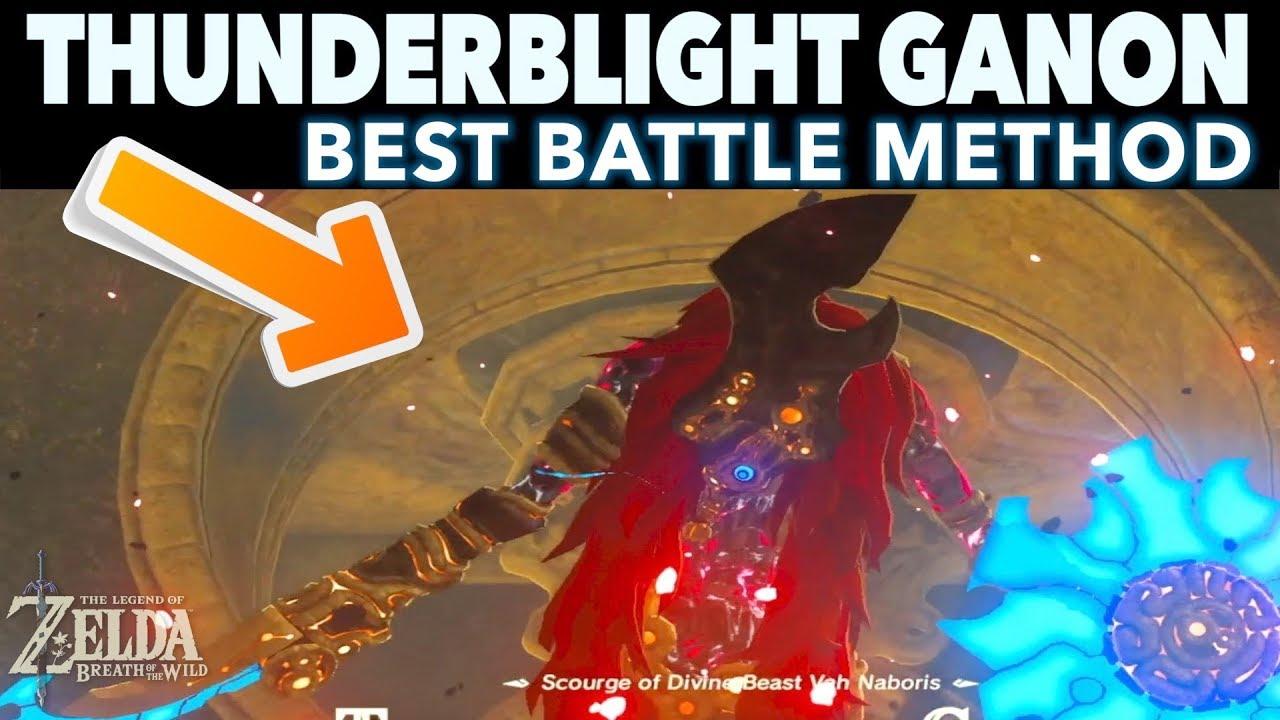The Easiest Way To Defeat Thunderblight Ganon Zelda Breath Of The Wild