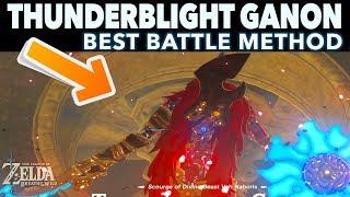 The EASIEST Way to Defeat Thunderblight Ganon - Zelda Breath of the Wild