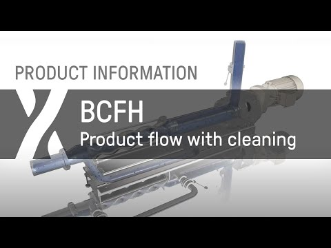 BCFH Product flow with cleaning