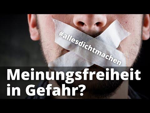 #allesdichtmachen - Meinungsfreiheit, die zum Kraftakt wird