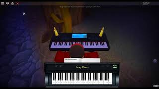 Jurassic Park Theme by: John Williams on a ROBLOX piano.