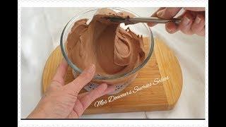 Ganache montée chocolat noir