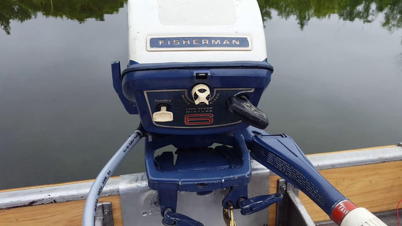 1970 Evinrude Fisherman 6hp Outboard Motor