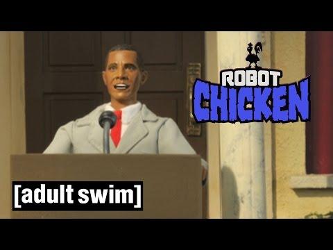 Robot Chicken's U.S Presidents | Robot Chicken | Adult Swim