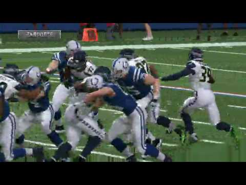 Madden 17 Seattle Seahawks vs Indianapolis Colts