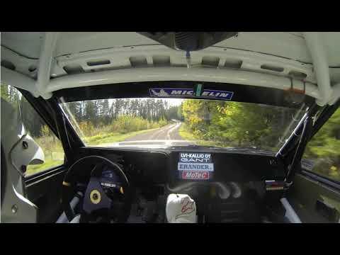 Rally Team Paimio Rantaralli 2018 Ek6 Samuli Nevä & Juha Kivimäki