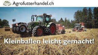 Kleinballen leicht gemacht - Agrofutterhandel.ch