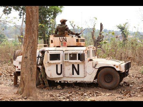 ONU condena ataques contra forças de paz na República Centro-Africana
