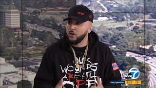 R-Mean speaks on the Armenian Genocide on  ABC 7 Morning News