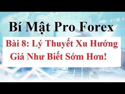 Bí mật Pro Forex  Bài 8 - Lý Thuyết Xu Hướng - Cách vẽ TrendLine - Cách Xác Định Xu Hướng Forex Pro