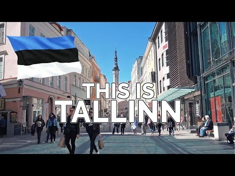 THIS IS TALLINN. Estonia. (Wow Air Travel Guide Application)
