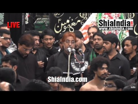 19th Safar Anjuman-e-Masoomeen Majlis From Aza Khana-e-Zehra 1438-2016
