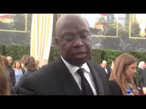 Andre Braugher ('Brooklyn Nine-Nine') on working with Emmy host Andy Samberg
