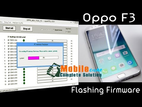 How to flash Firmware OPPO F3 (CPH1609EX) 100% Working