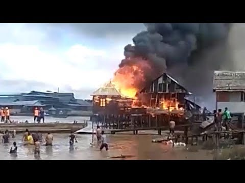 Kompilasi Kebakaran Belasan Rumah di Pinggiran Sungai Musi Mp3