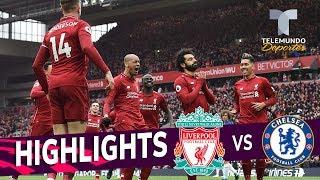 Liverpool vs. Chelsea: 2-0 Goals & Highlights | Premier League | Telemundo Deportes