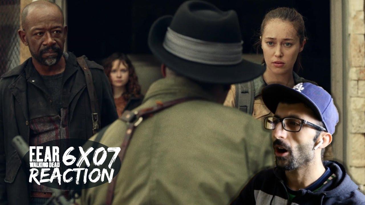 Download Fear The Walking Dead 6x07 'Damage from the Inside' REACTION    Season 6 Episode 7