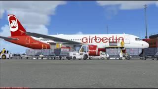 fsx air berlin full flight berlin tegel eddt to venice tessera lipz
