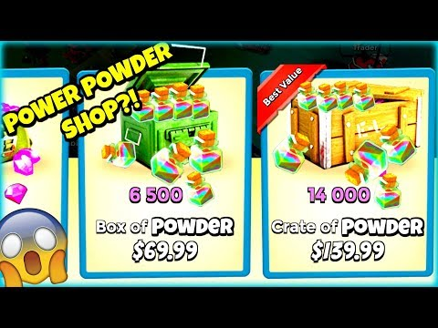 Buying Power Powder in Boom Beach :: Could it Work?!